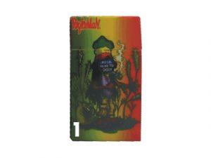3117-R1 Plastic Cigarette Case, Rasta