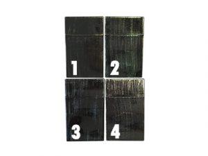 3114-W Plastic Wood Design Cigarette Case
