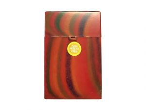3116-D1 Plastic Cigarette Case, Whimsical