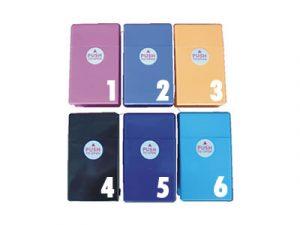 3116-LC Plastic Cigarette Case, Lighter Colors