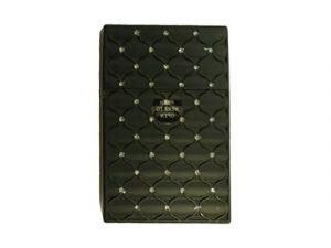 3116-M20 Plastic Cigarette Case, Rhinestone