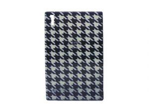 3116-M32 Plastic Cigarette Case, Black & White Patterns