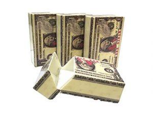 3116-MON Plastic Cigarette Case, Money