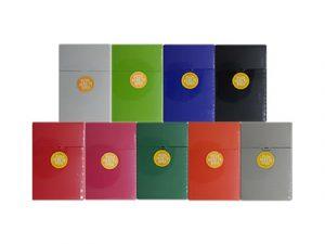 3116-S Plastic Cigarette Cases, Solid Colors