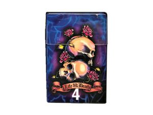 3116-TAT3 Plastic Cigarette Case, Tattoo Designs