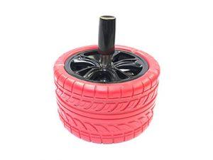ASHSTIRE Colorful Rubber Tire Ashtray