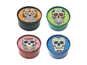 GR3CSK Glow In The Dark Candy Skull