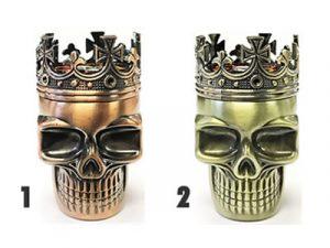 GR3KINGSK – King Skull Metal Grinder