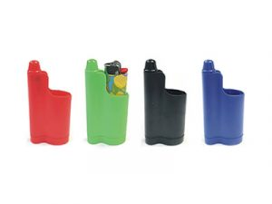 LC03 3-In-1 Lighter Holder, Snuffer & Bottle Opener